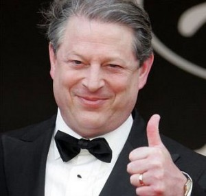Relentless global warming promoter Al Gore will make millions on cap & trade climate tax