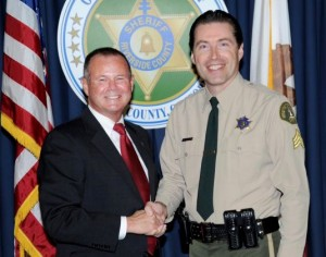Why did Sheriff Stan Smith (L) hired Purvis despite his previous claim for mental impairment with the City of Banning? Is there more to this story than meets the eye ?