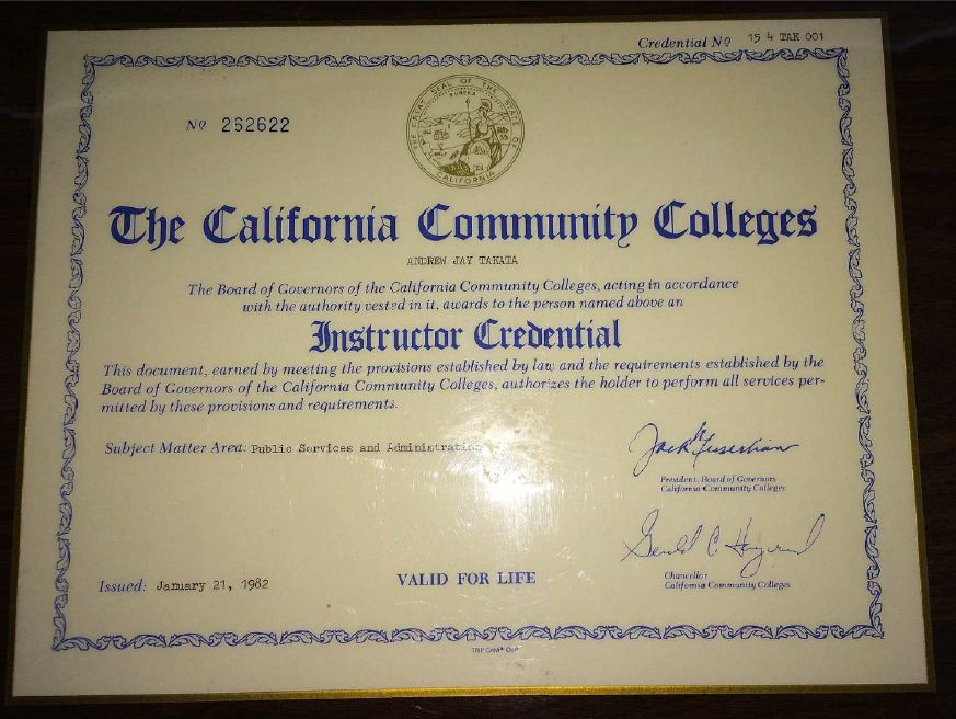 Master Of Education Degree And Teaching Credential Program