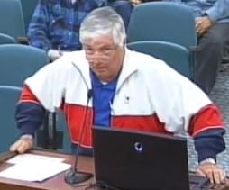 "Accused Council members of using ""scare tactics"" : Sun Lakes president George Moyer"