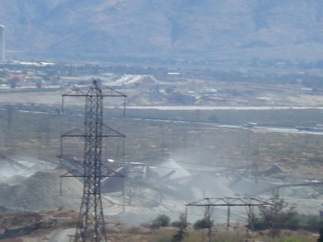 Robertson's mine has been criticized for its dust emissions