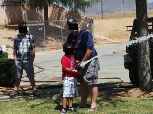 Follow the hose : yet another City owned fire hydrant tapped into