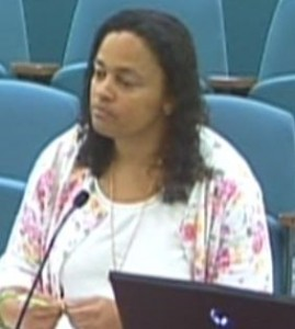 Finance Director Michelle Green made the Staff report