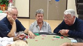 Welch and his buddy Smith playing poker. Smith owes the taxpayer over $ 90,000 and Welch does nothing about it